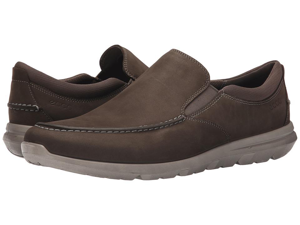 Ecco Performance - Calgary Slip On (Tarmac) Men's Slip on Shoes