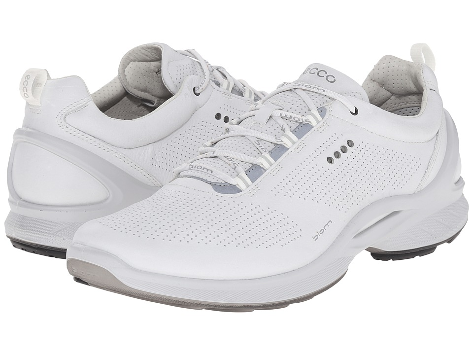 ECCO Sport - Biom Fjuel Train (White) Men's Lace up casual Shoes