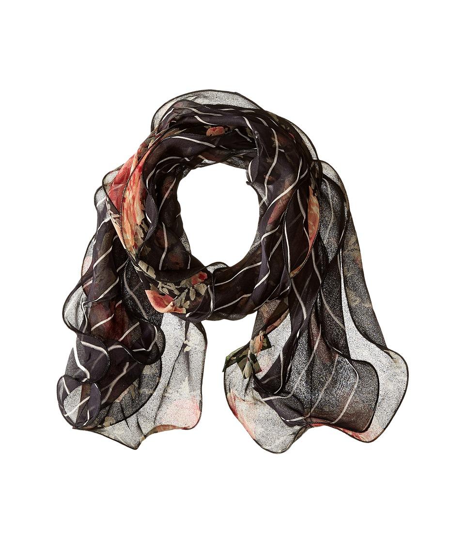 LAUREN by Ralph Lauren - Stella (Black) Scarves