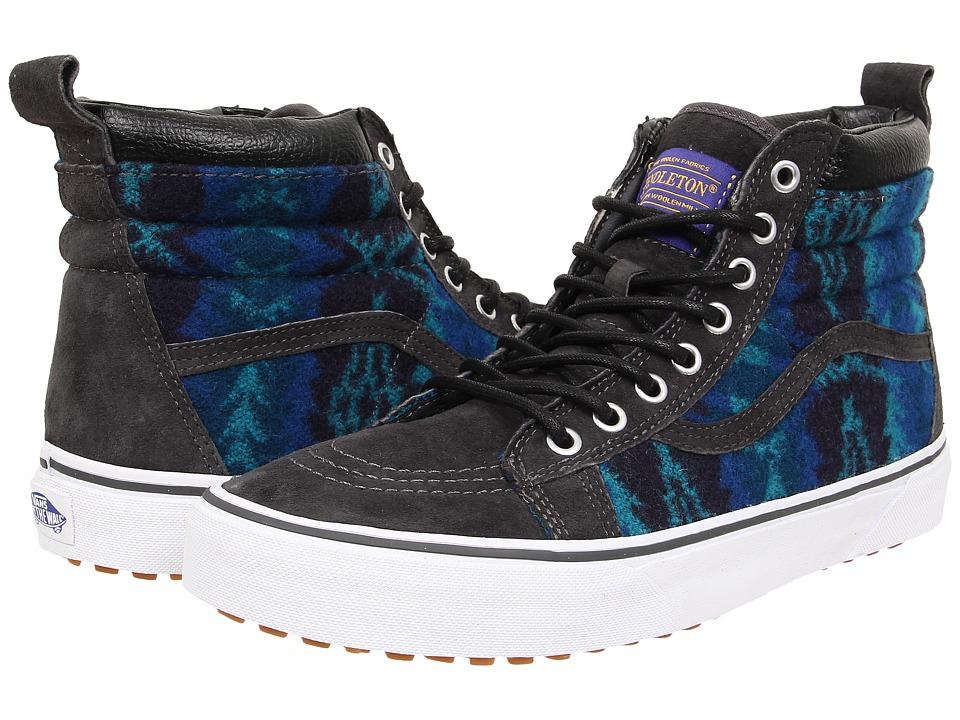 Vans - SK8-Hi MTE ((MTE) Pendleton/Tribal/Asphalt) Skate Shoes