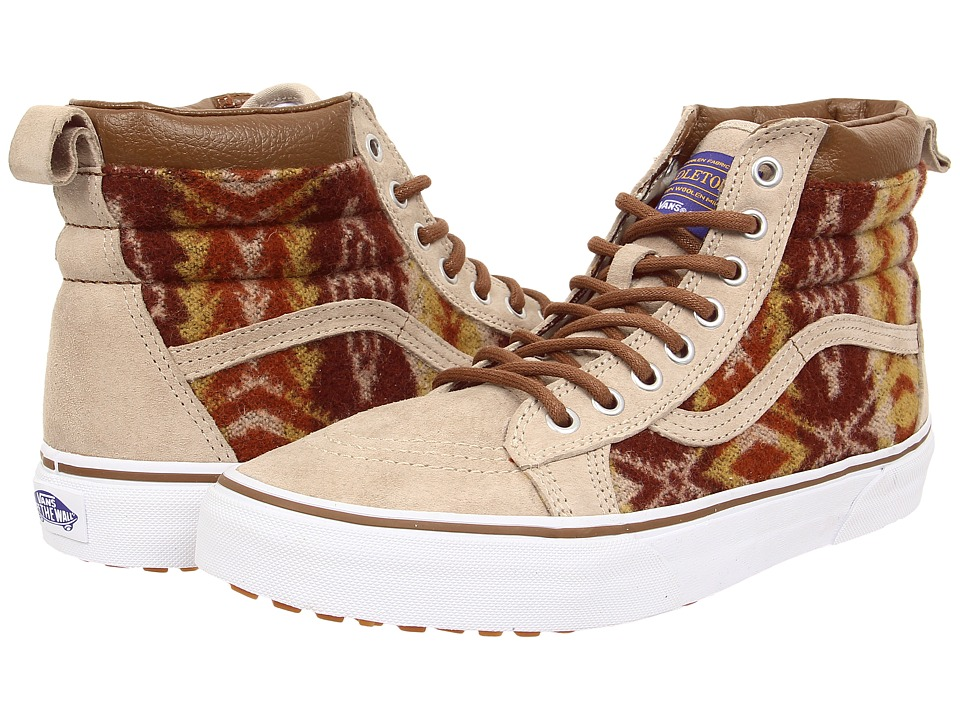 Vans - SK8-Hi MTE ((MTE) Pendleton/Tribal/Tan) Skate Shoes