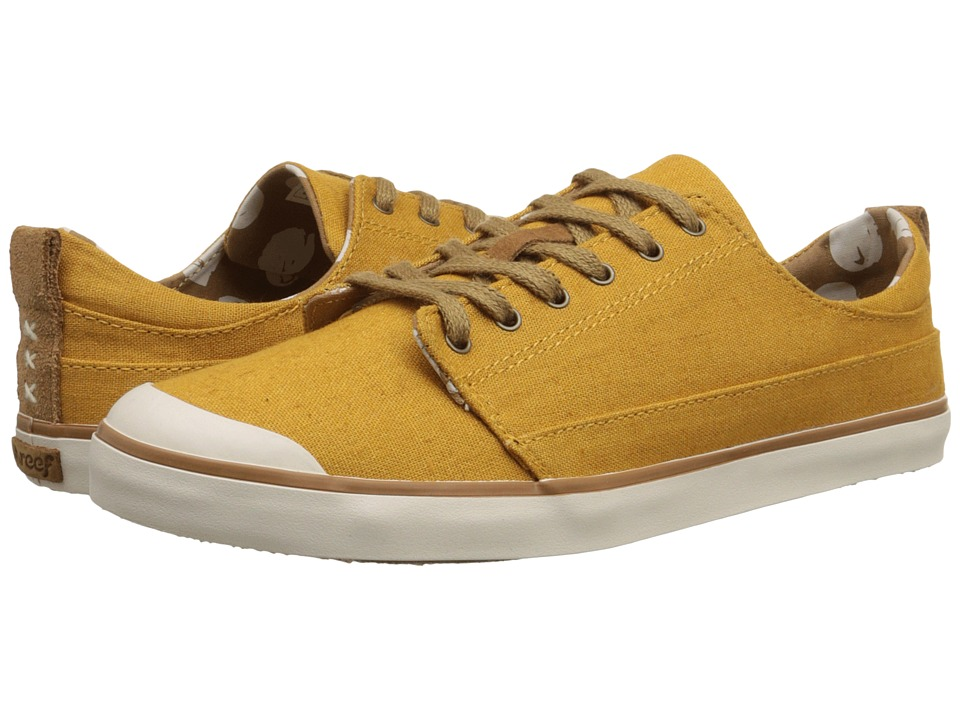 Reef - Walled Low (Mustard) Women's Lace up casual Shoes