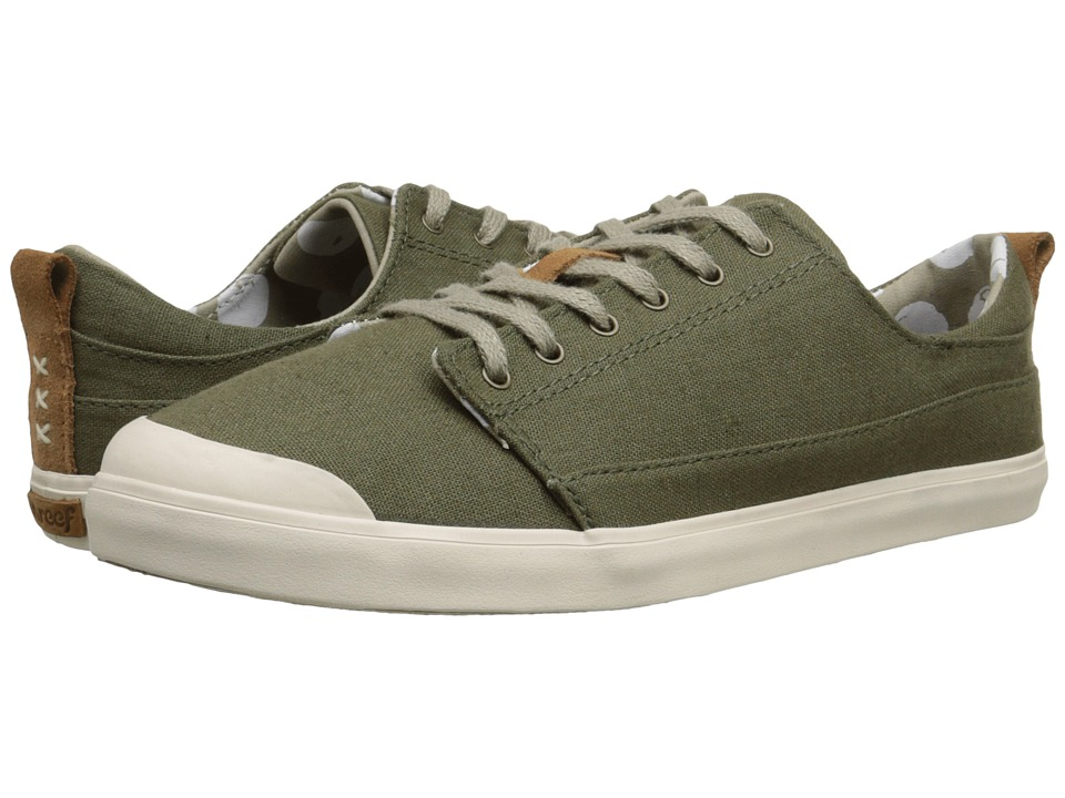 Reef - Walled Low (Olive) Women's Lace up casual Shoes