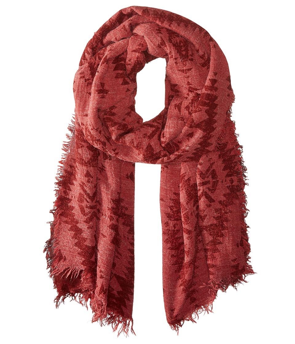 LAUREN by Ralph Lauren - Daria (Camden Red) Scarves