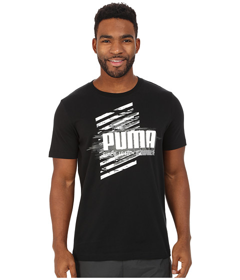 PUMA - Fade Tee (Black) Men's T Shirt