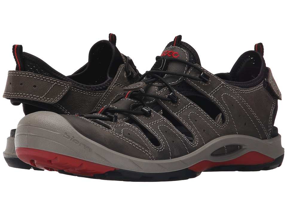 ECCO Sport - Biom Delta Offroad (Dark Shadow/Black/Tomato) Men's Shoes