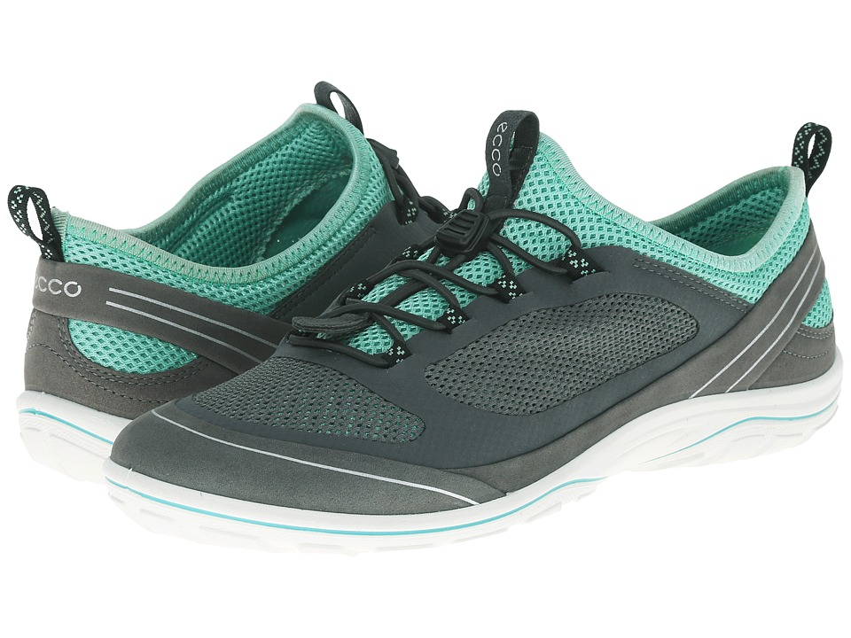 ECCO Sport - Arizona Toggle (Dark Shadow/Dark Shadow/Granite Green) Women's Shoes