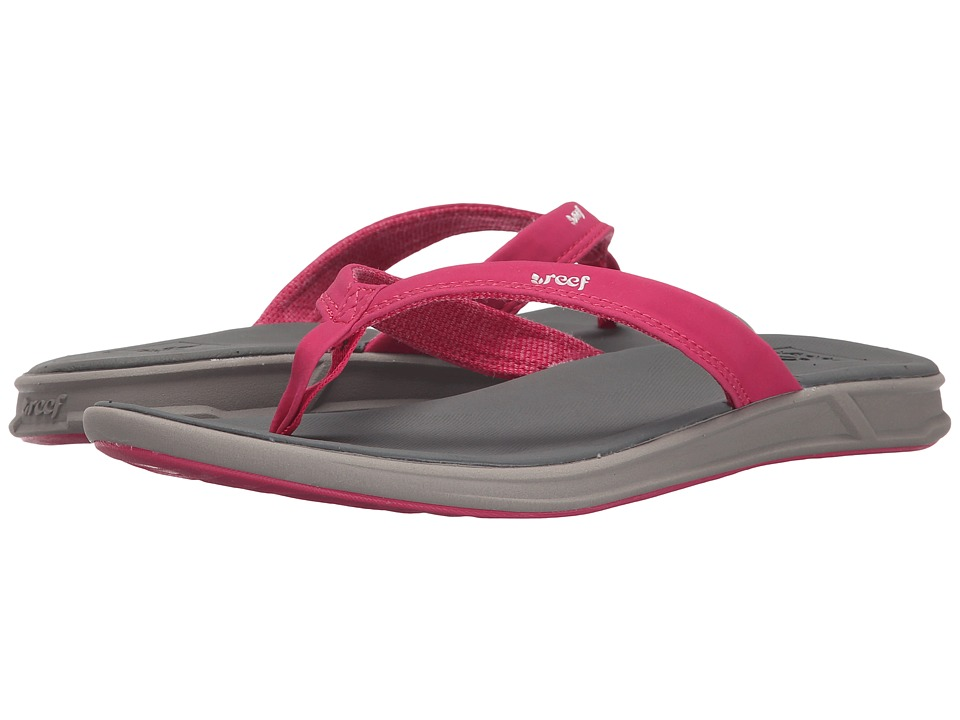 Reef - Rover Catch (Grey/Pink) Women's Sandals
