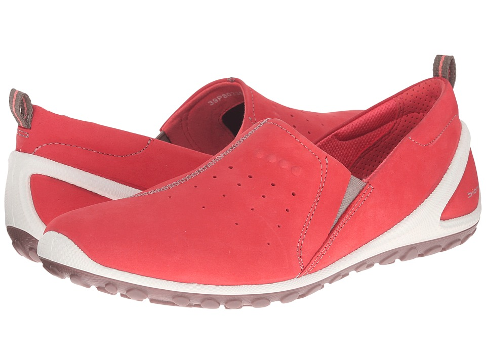 ECCO Sport - Biom Lite Slip On (Coral Blush/Moon Rock) Women's Shoes