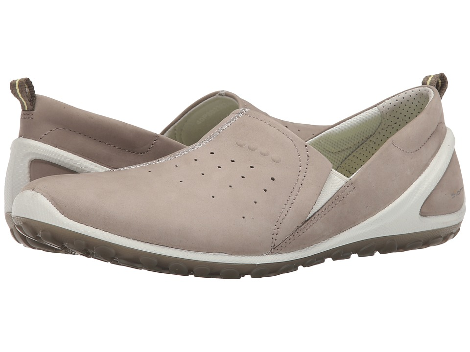 Ecco Performance - Biom Lite Slip On (Moon Rock/Shadow White) Women's Shoes