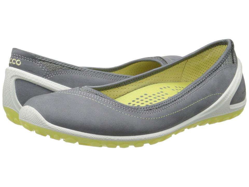 ECCO Sport - Biom Lite 1.2 Flat (Titanium/Titanium/Popcorn) Women's Slip on Shoes