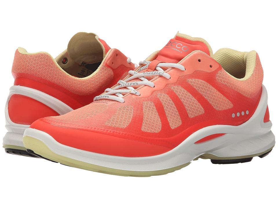 ECCO Sport - Biom Fjuel Racer (Coral Blush/Coral/Popcorn) Women's Shoes