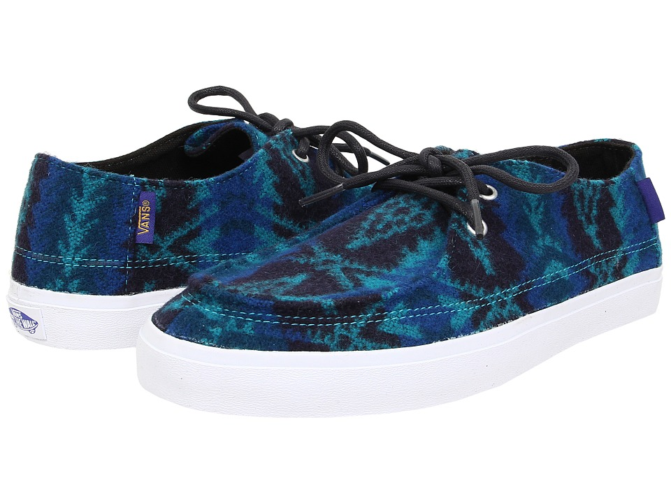 Vans - Rata Vulc SF ((Pendleton) Blue/Tribal) Men's Shoes