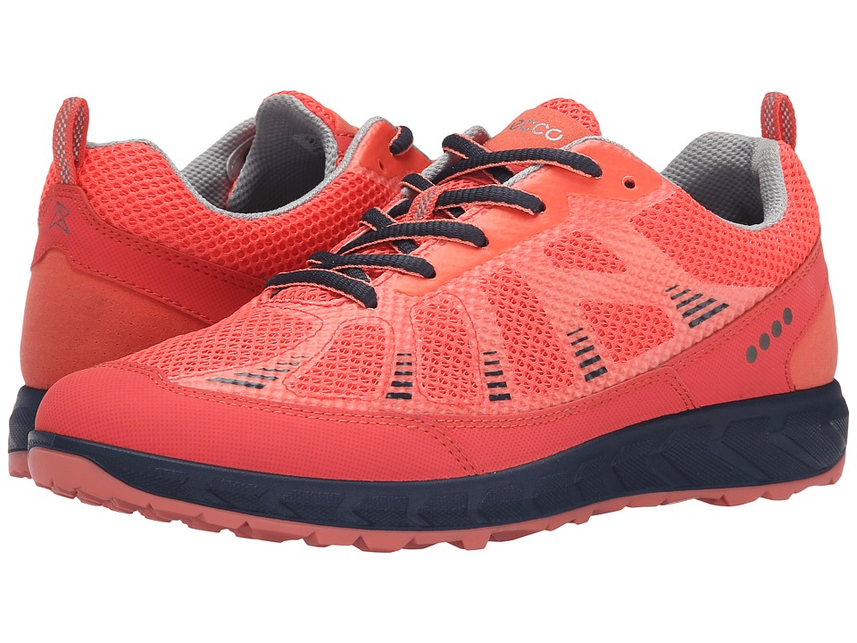 ECCO Sport - Terratrail (Coral Blush/Coral Blush/Marine) Women's Shoes
