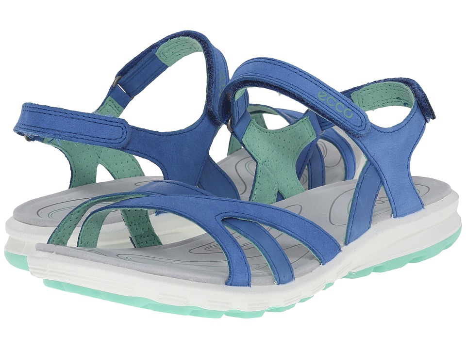 ECCO Sport - Cruise Strap Sandal (Cobalt/Cobalt/Granite Grey) Women's Shoes