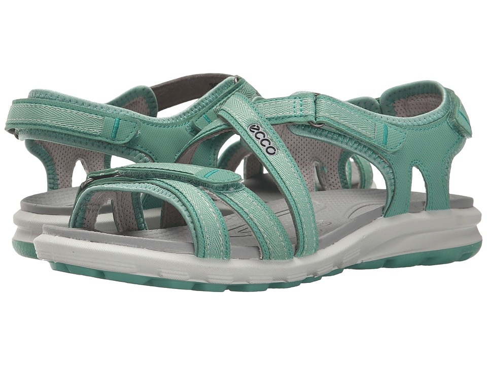ECCO Sport - Cruise Strap Sandal (Granite Green) Women's Shoes