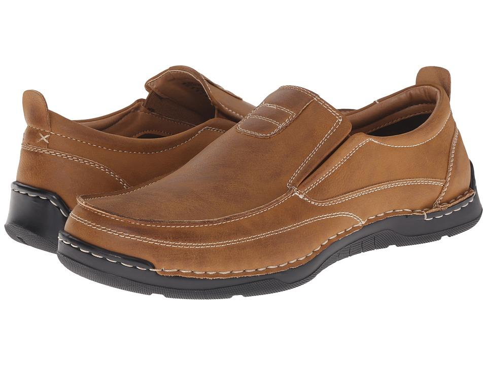Image of Antonio Zengara - Belmar (Dark Tan) Men's Shoes