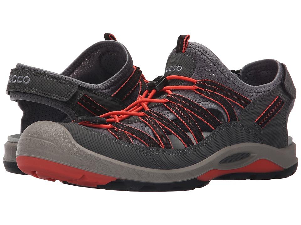 ECCO Sport - Biom Delta Sandal (Dark Shadow/Coral Blush) Women's Shoes