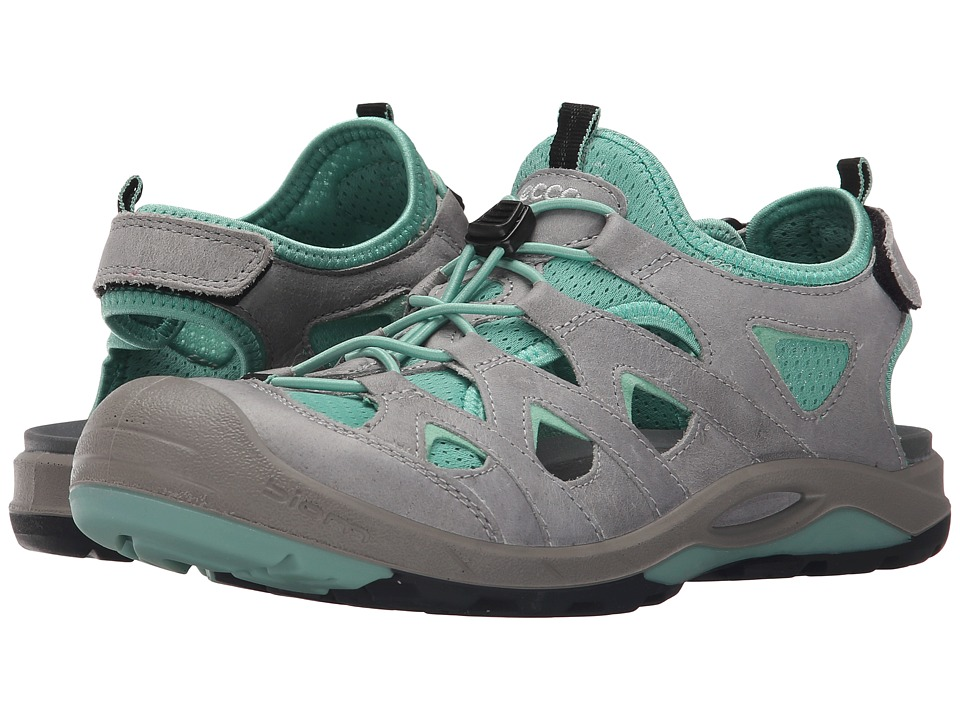 ECCO Sport - Biom Delta Offroad (Titanium/Granite Green) Women's Shoes