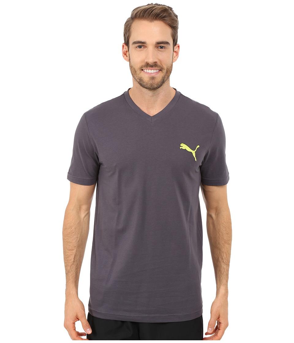 PUMA - Ideal V Tee (Periscope) Men's T Shirt