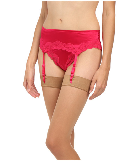 Stella McCartney - Clara Whispering Accessory Suspender Belt (Deep Fuchsia) Women's Underwear