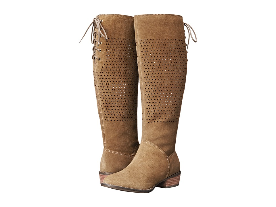 VOLATILE - Brando (Khaki) Women's Zip Boots