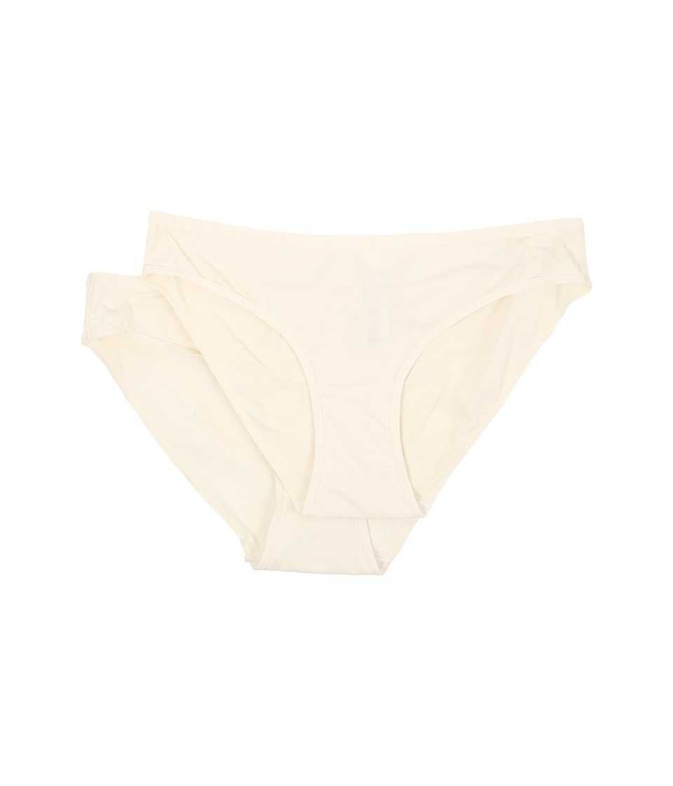 Emporio Armani - Flawless Microfiber 2-Pack Brief (Ivory) Women's Underwear