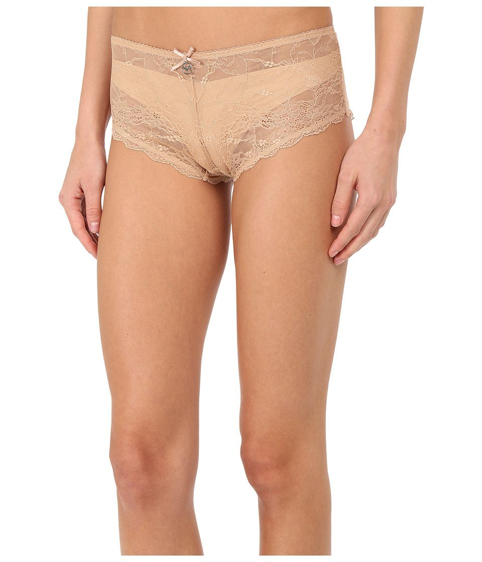 Emporio Armani - Classic Lace Culotte (Nude) Women's Underwear