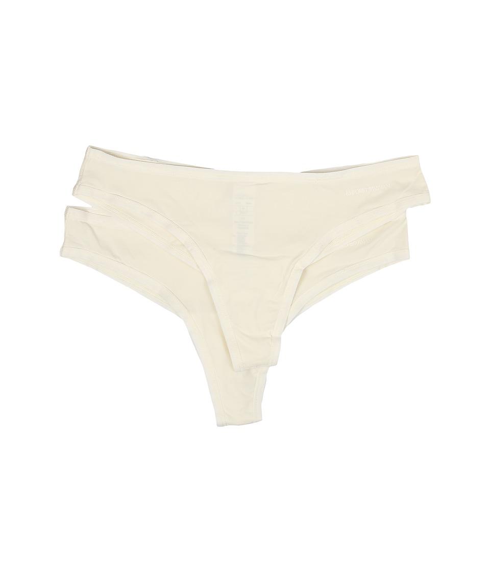 Emporio Armani - Classic Bi-Packs (Ivory) Women's Underwear