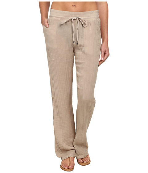 Three Dots - Cover-Up Pants (Caribbean Sand) Women