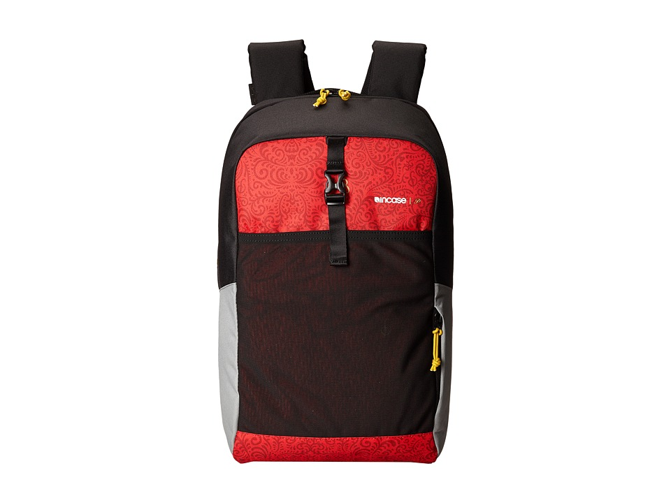 Incase - Primitive P-Rod Cargo Backpack (Red/Black) Backpack Bags