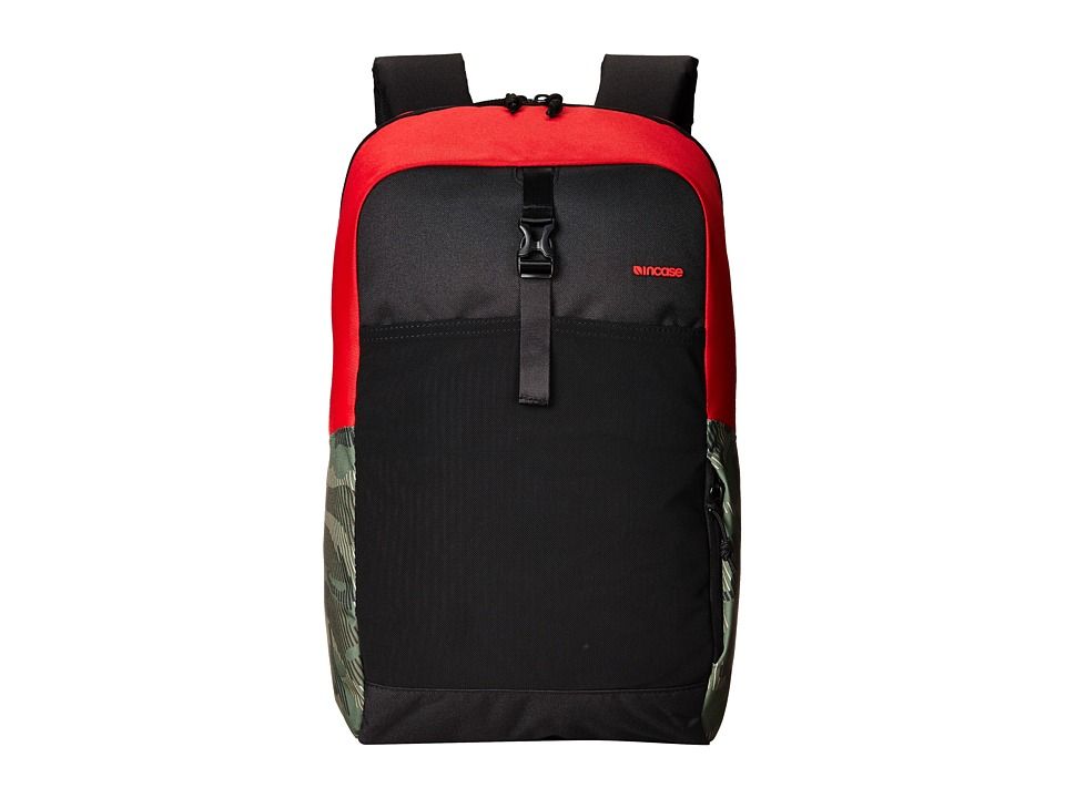 Incase - Cargo Pack (Rosso Corsa Red/Black/Metric Camo) Backpack Bags