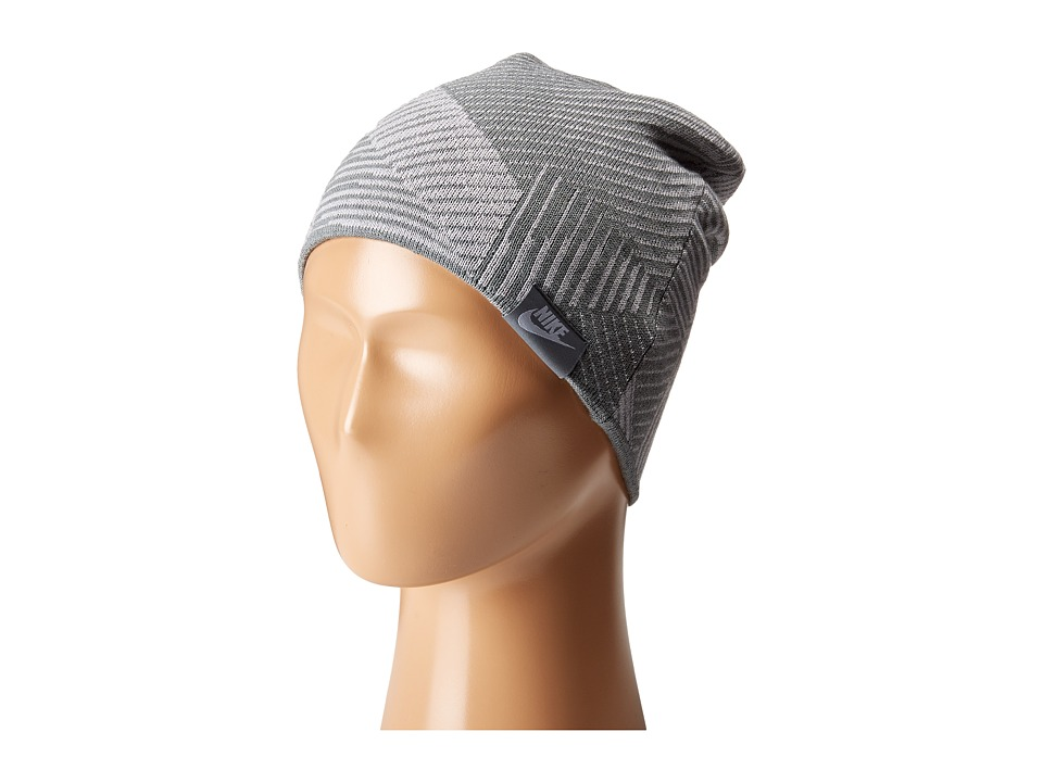 Nike - Seasonal Cuff Beanie (Little Kids/Big Kids) (Wolf Grey/Cool Grey) Beanies