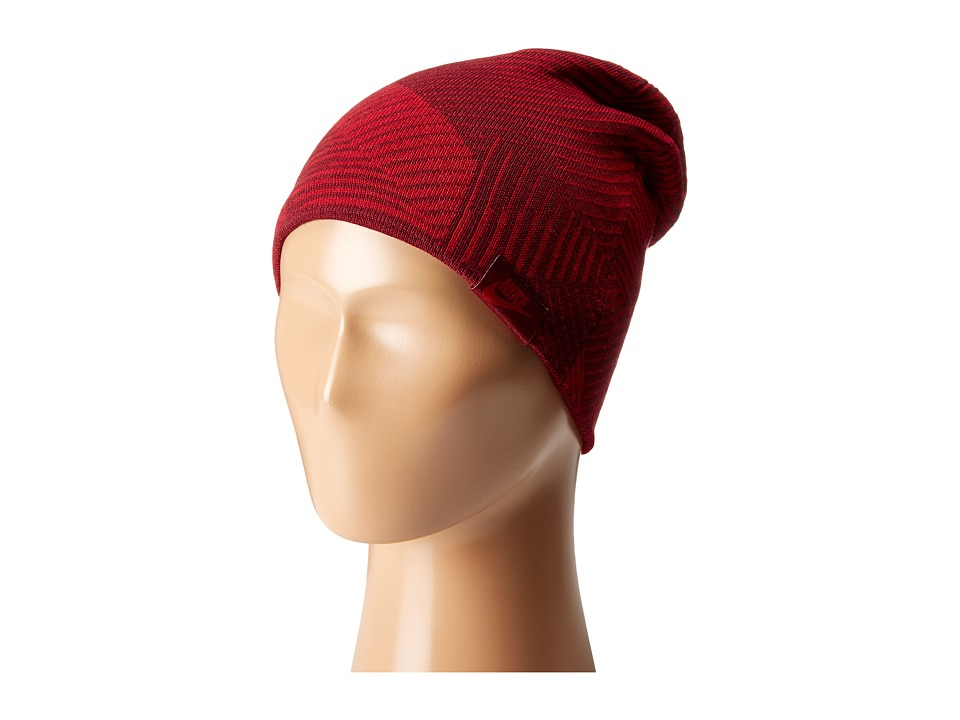 Nike - Seasonal Cuff Beanie (Little Kids/Big Kids) (Gym Red/Team Red) Beanies