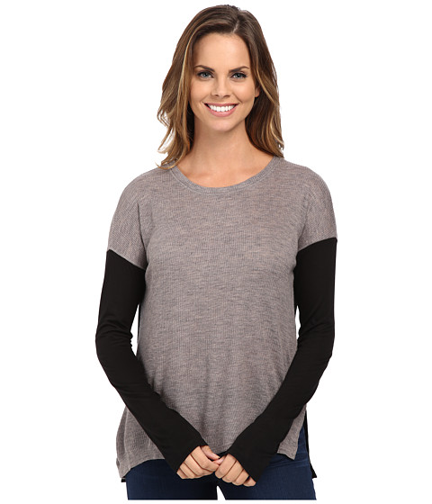 Sanctuary - Rib Runner (Grey/Onyx) Women's Clothing