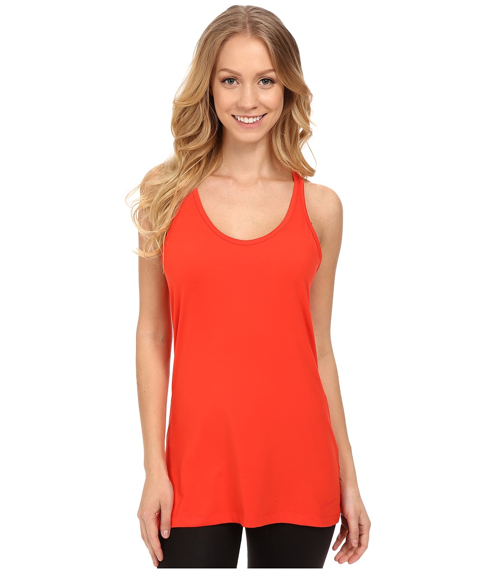 Nike - Get Fit Tank Top (Light Crimson/Light Crimson) Women's Workout