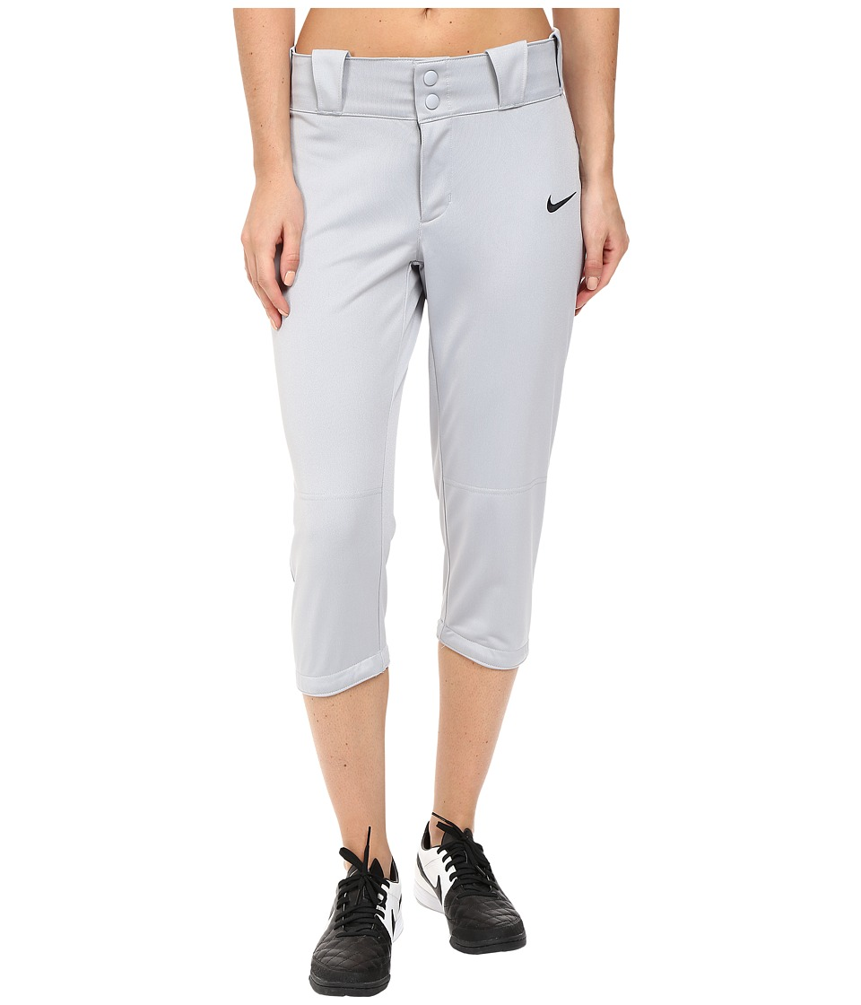 Nike - Diamond Invader 3/4 Softball Pant (Blue/Grey) Women's Workout