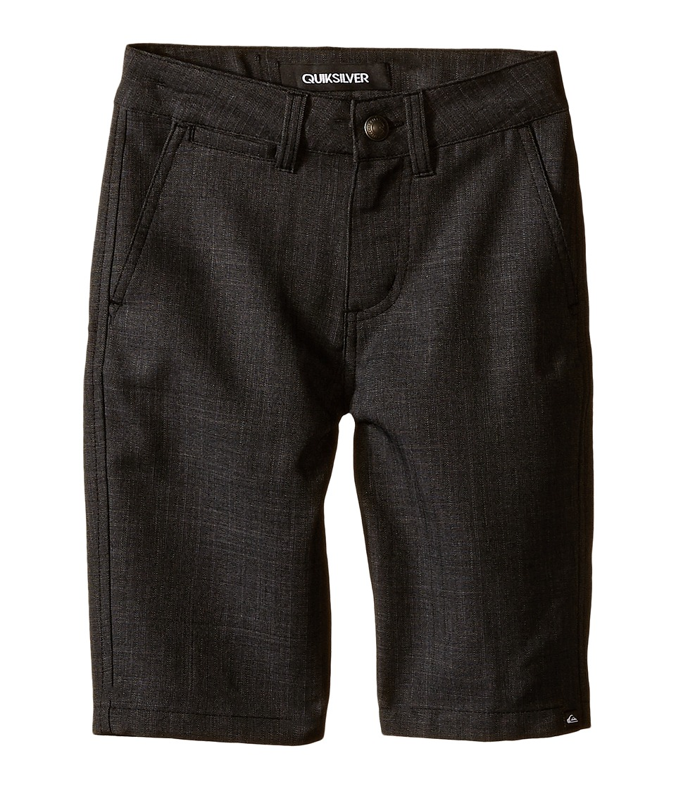 Quiksilver Kids - Regenerator Shorts (Big Kids) (Black) Boy's Shorts