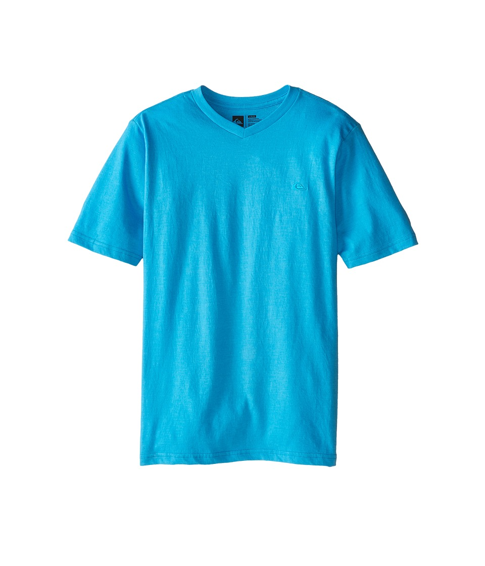 Quiksilver Kids - Daily T-Shirt (Big Kids) (Hawaiian Ocean Heather) Boy's T Shirt