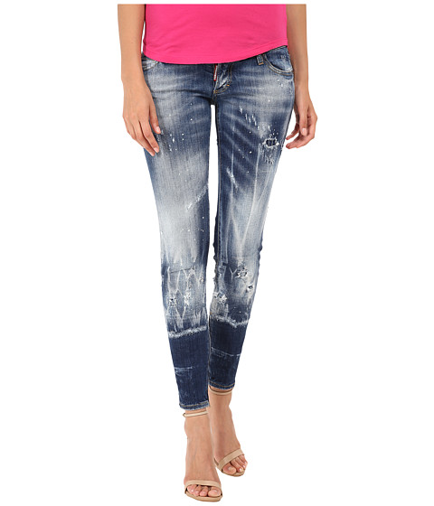 DSQUARED2 - Skinny Jeans (Blue) Women's Jeans