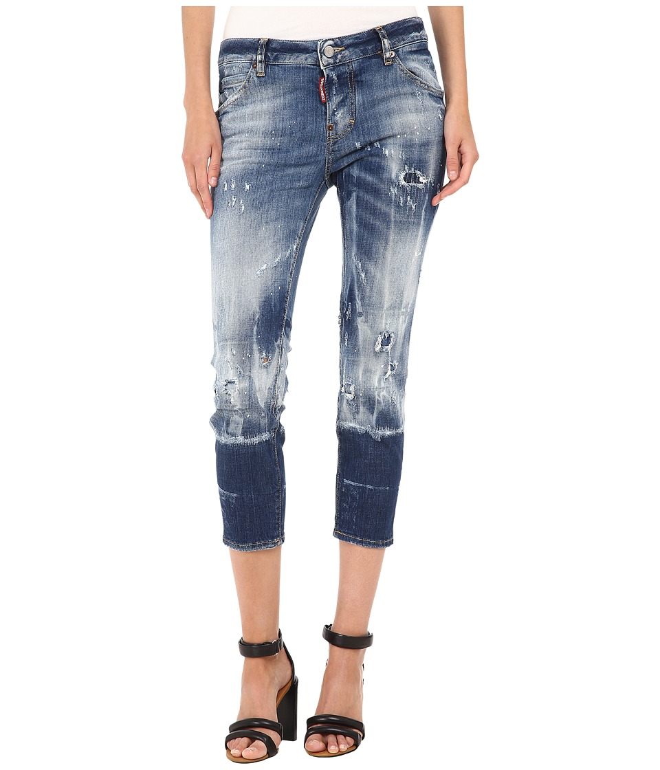 DSQUARED2 - Glam Rock Jeans (Blue) Women's Jeans