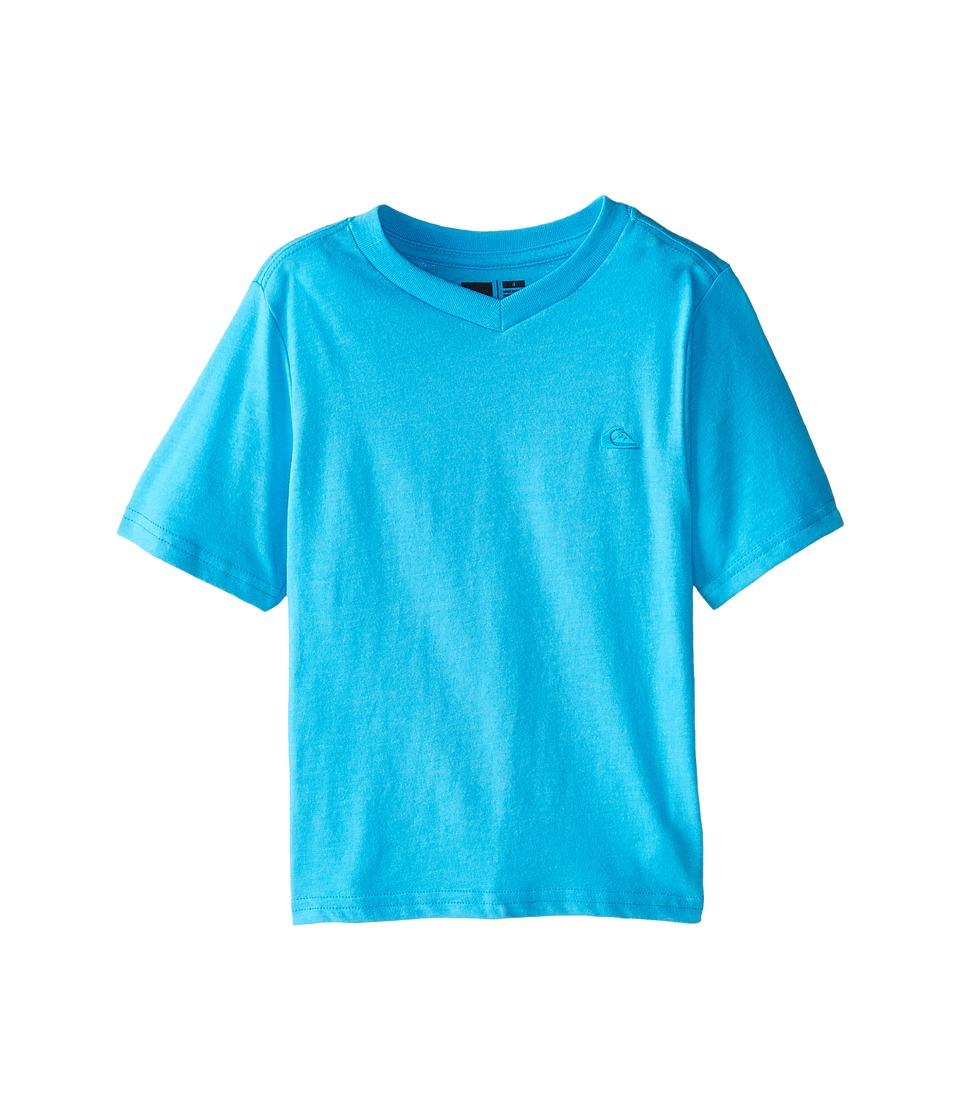 Quiksilver Kids - Daily T-Shirt (Toddler/Little Kids) (Hawaiian Ocean Heather) Boy