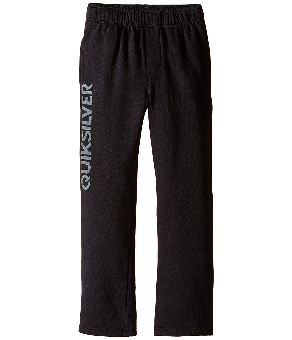 Quiksilver Kids - Everyday Track Pants (Little Kids) (Black) Boy's Casual Pants