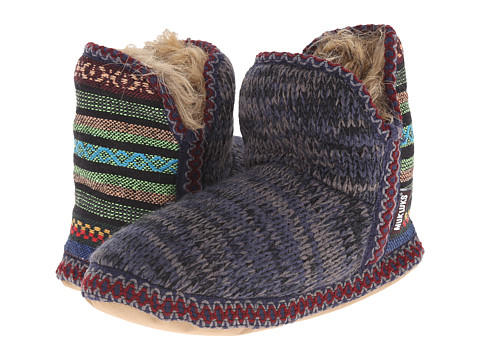 MUK LUKS - Amira Slipper (Dark Blue) Women's Slippers