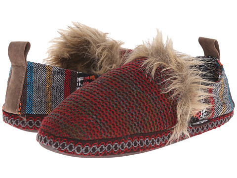 MUK LUKS - Ammie (Red) Women's Slippers