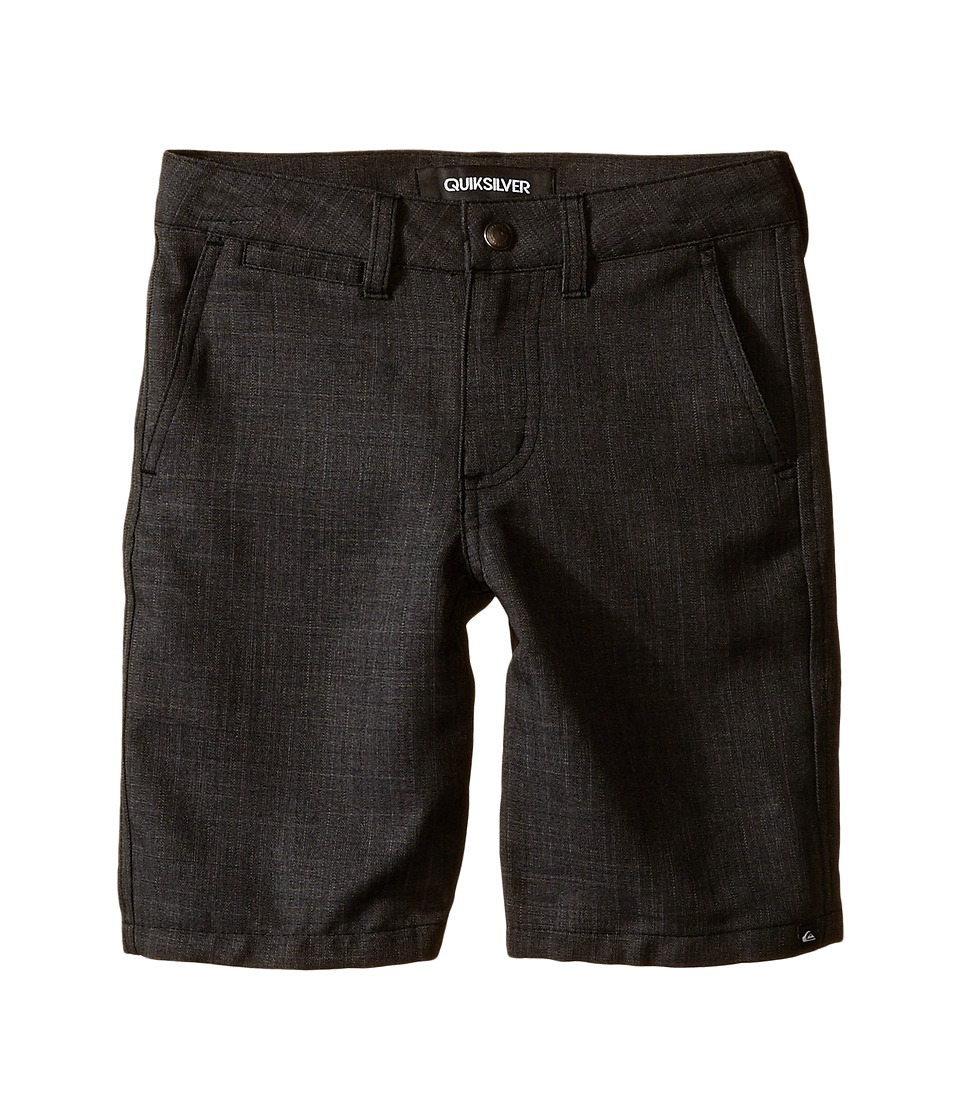Quiksilver Kids - Regenerator Shorts (Little Kids) (Black) Boy's Shorts