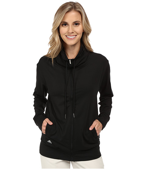 adidas Golf - Advance Rangewear Full Zip Jacket (Black) Women's Coat