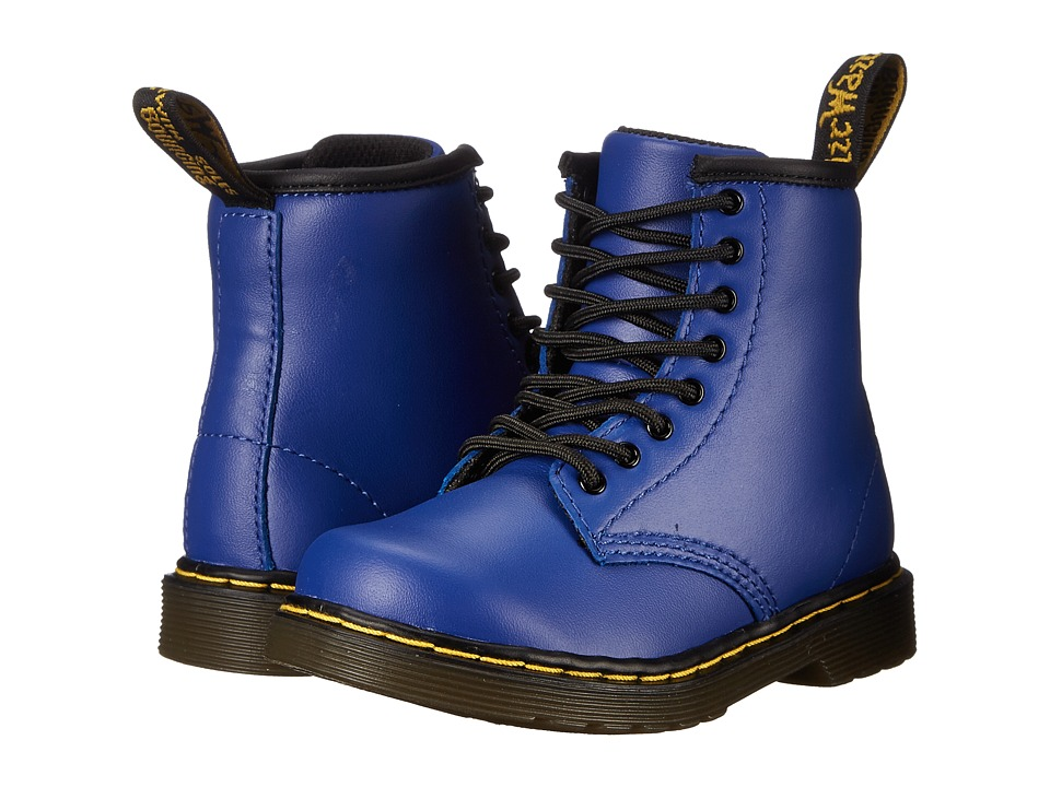 Dr. Martens Kid's Collection - Brooklee (Toddler) (Wild Blue Softy T) Kids Shoes