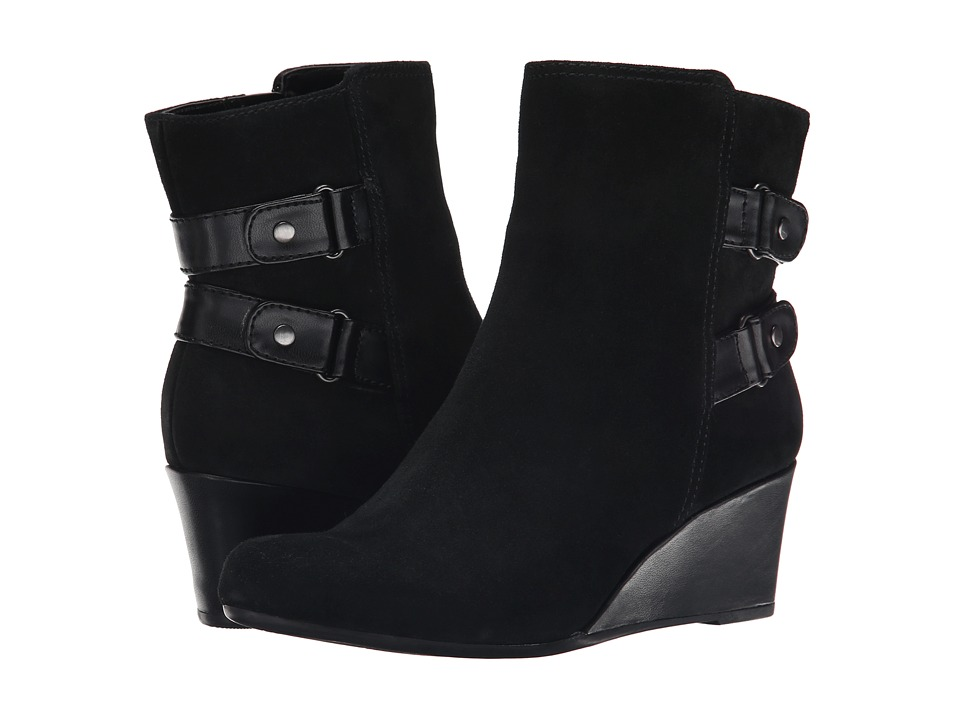 Bandolino - Ariona (Black Multi Suede) Women's Shoes