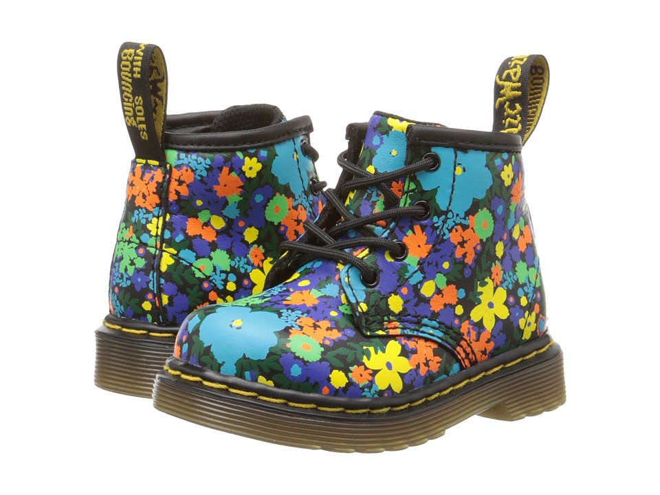 Dr. Martens Kid's Collection - Brooklee B (Toddler) (Black Wanderflora Softy T) Girls Shoes